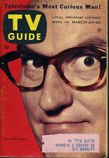 DAVE GARROWAY TV GUIDE MARCH 24 1956