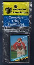 1988 LOUISVILLE REDBIRDS 25-card CMC~TCMA baseball team FACTORY set ~ CARDINALS