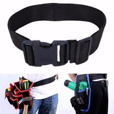 Nylon Black Adjustable Quick Release Heavy Duty Tool Work Belt Workers Builders