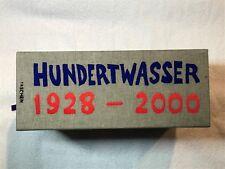 Fachbuch Friedensreich Hundertwasser 1928-2000 informativ mit vielen Bildern NEU