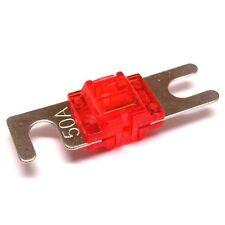Stinger 50 Amp Pro MIDI Platinum Nickel Finish Fuse MINI ANL