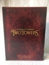 The Lord Of The Rings The Two Towers 4 DVDs Disc Set Special Extended Edition B
