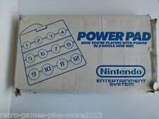 Original Nintendo NES Power Pad Used With Damaged Box---Tested
