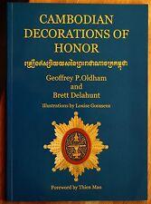 Oldham, G.P. & B. Delahunt Cambodian decorations of honor 2004 Phaléristique