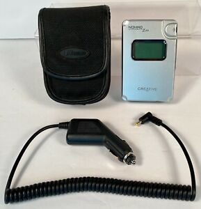 Creative Labs Nomad Jukebox Zen 20GB Portable MP3 Player 5700 Songs ~ Tested