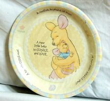 "~WINNIE THE POOH~ BABY ROO-8 - LARGE PAPER  PLATES 8-3/4""   PARTY SUPPLIES"