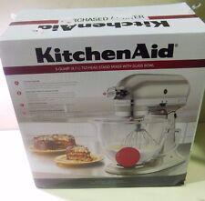 KitchenAid 5KSM156ACA Platinum Stand Mixer - Candy Apple Red