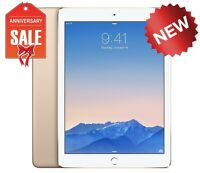 NEW Apple iPad Air 2 32GB, Wi-Fi, 9.7in - GOLD with Touch ID