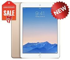 NEW Apple iPad Air 2 128GB, Wi-Fi, 9.7in - Gold with Touch ID (Latest Model)