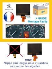 Afficheur LCD ECRAN DE COMPTEUR ODB PEUGEOT 407, 407 SW, 407 coupé, neuf +NOTICE