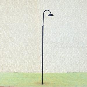 5 x G scale LED street station light model rail slot car path lamp post #733sBL