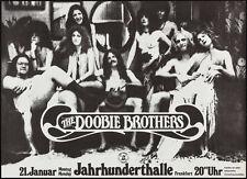 DOOBIE BROTHERS German A1 1974 concert poster NM KIESER Art ?