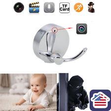 HD Clothes Hook Camera Mini Nanny Video Recorder Room Motion Detection DVR Cam