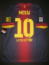 New 2012-2013 Nike Authentic FC Barcelona FCB Jersey Shirt Kit Lionel Messi Home