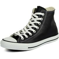 Converse Mens Chuck Taylor All Star Hi Leather AS581 Black/White Size 12