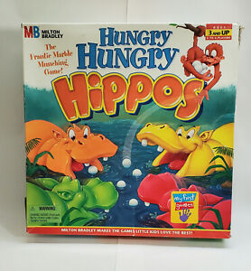 Vintage 1994 Milton Bradley - Hungry Hungry Hippos 100% Complete