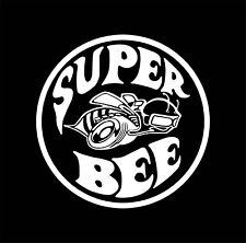 Super Bee Dodge Challenger Charger Racing Vinyl Decal Sticker Car Truck Window