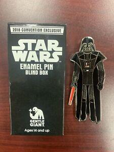 "Darth Vader SDCC 2018 Gentle Giant Exclusive Star Wars 3.75"" Figures Enamel Pin"