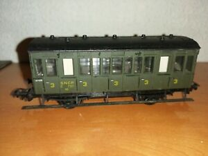 PIKO SUPERBE WAGON VOITURE VOYAGEUR IMPERIAL SNCF  N°4 TRAIN HO