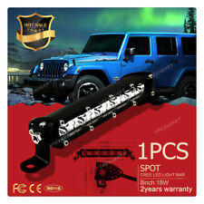 1pc 18W 6000K LED Work Light Bar Driving Lamp Fog Off Road SUV Car Boat Truck