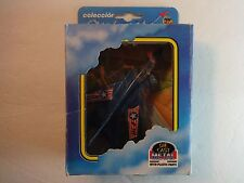 Mira of Spain Blue Tornado Fighter Jet Airplane w/ box