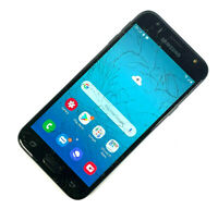 Samsung Galaxy J3 (2017) SM-J330F 16GB Black (Unlocked)SMASHED SCREEN, WORKS 625