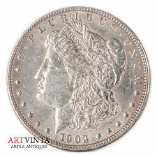 1903 Morgan One Dollar Silver Silber Münze USA Amerika Coin Liberty