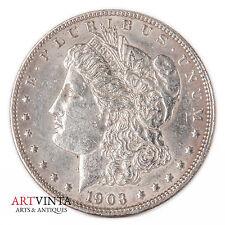 1903 morgan one dólares Silver moneda de plata unidos américa coin Liberty