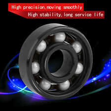 608 Ceramic Ball Speed Bearing For Finger Spinner Skateboard Drift Plate Black