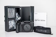FUJIFILM GFX 50S Medium Format Mirrorless Camera (Body Only) & Accessories