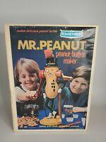 Vintage EMENEE Mr. Peanut, peanut butter maker 1967 toy set -Never Opened RARE