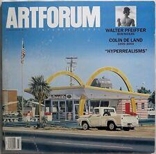 ARTFORUM INTERNATIONAL Summer 2003 Walter Pfeiffer COLIN DE LAND