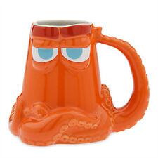 DISNEY STORE FINDING DORY HANK 16 OZ Coffee Tea Orange Mug New PIXAR Nemo