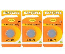 4x CR2477 3V Lithium Batterie Knopfzelle 3 Volt ø24,5x7,7mm VARTA Blister
