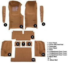 Inserts CutpileFits 1969-1977 Corvette C3 Door Panel Replacement Carpet