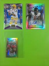 ALL 2020 VARIATION LISTING NFL FOOTBALL CHRONICLES LEGACY AUTO RC #ED PARALLELS