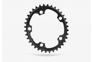 Absolute Black Road Oval SRAM Chainring (110 BCD) 5 Bolt 34T Black
