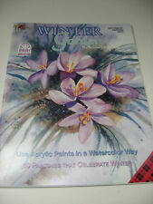 Winter Garden LOUISE JACKSON Tole Decorative Painting Pattern Book Fall Plaid