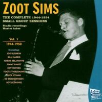 ZOOT SIMS - COMPLETE 1944-50 SMALL GROUP SESSIONS  CD NEW!
