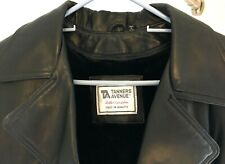 Tanners Avenue Leather Coat - Black, Large, GREAT DEAL!