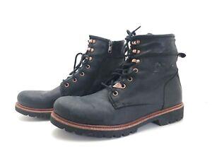 Panama Jack Herren Stiefel Stiefelette Ankle Boots Freizeitschuhe Schwarz Gr. 44