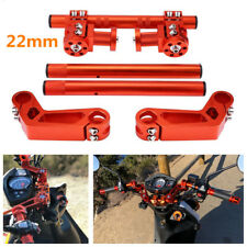 "7/8"" Motorcycle CNC Steering Handlebar Removable Handle Bar For 125cc Pit Bike"