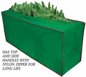 Nylon Christmas Tree Storage Bag Fits Up To 8' Artificial Tree with Handles.