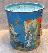 graphic old Toyland Peanut Butter pail 2lb size