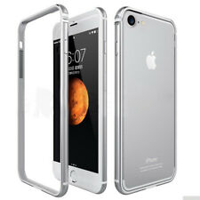 Hybrid Flexible Aluminum Metal+Rubber Bumper Case Cover for iPhone X 8 Plus 6s 7