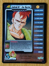 ANDROID 16 THE WARRIOR LV4 [Light Play] R14 Cell Promo Dragon Ball Z Ccg Tcg Dbz