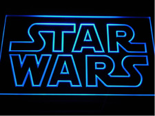 New Custom Star Wars LED Neon Light Signs Bar Man Cave 7 colors to choose from