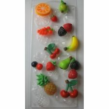 """""""Assorted fruits"""" plastic soap mold soap making mold mould"""