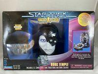 Star Trek Strike Force Borg Temple Playset Collectors Edition 1997 Playmates New