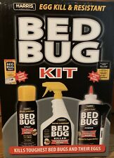 Harris Bed Bug Kit Kills Eggs and Resistant Bedbug Control Killer Insecticide